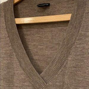 Club Monaco Merino Wool V-neck Sweater